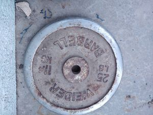 25 lb Standard 1 inch weight for Sale in Manteca, CA