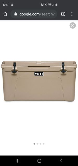 Yeti Tundra 75 NEW WITH TAG! for Sale in Pomona, CA