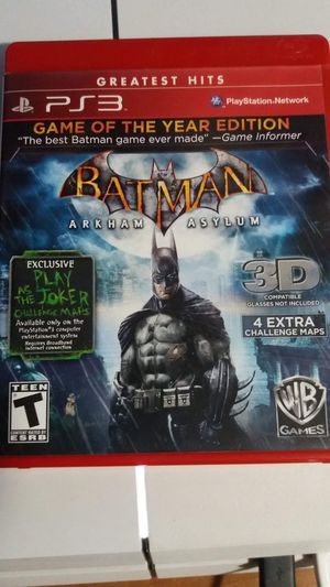 Batman ps3 for Sale in Tacoma, WA