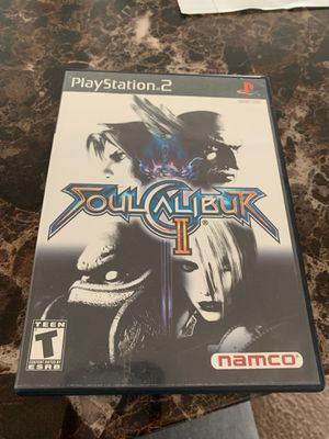 PlayStation 2 Game Soulcalibur 2 for Sale in Stafford, VA