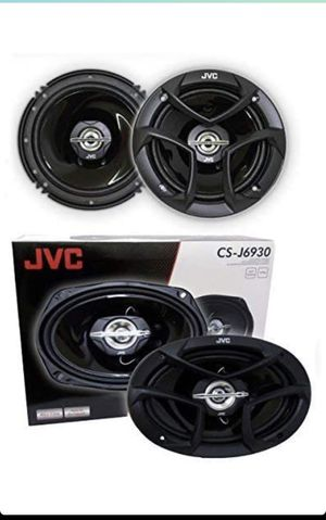 Jvc car speakers 2 pair 6.5 inch with 6x9 inch for Sale in Chula Vista, CA