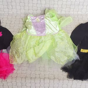 Dress Up Costumes - Girls 2T for Sale in Boca Raton, FL