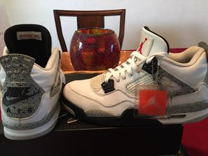 Jordan Retro 4 Cement Size 11 for Sale in Pittsburgh, PA