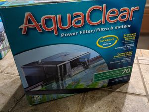 Aquaclear 70 fluval new fish tank aquarium filter for Sale in Roseville, CA
