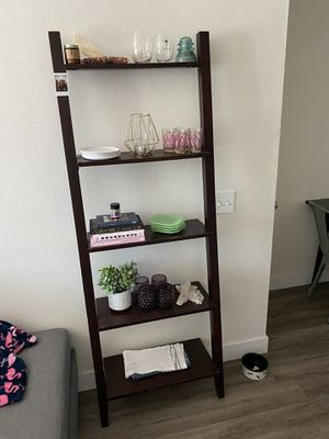 Ladder leaning shelf for Sale in San Diego, CA