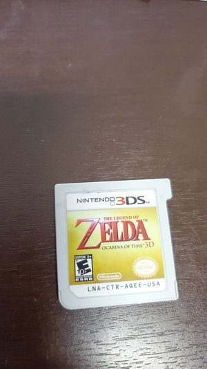 Nintendo 3ds Zela Ocarina of time for Sale in San Diego, CA