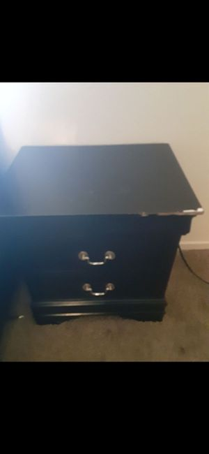 Black Dresser drawers for Sale in Las Vegas, NV
