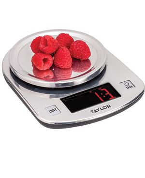 Taylor Stainless Steel LED Kitchen Scale for Sale in Lawrence Township, NJ