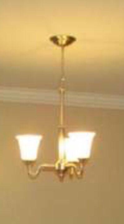 Dining room ceiling light