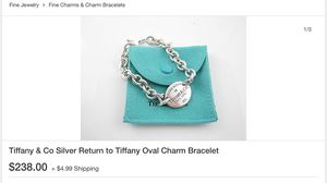 Tiffany and co. ID bracelet for Sale in Las Vegas, NV