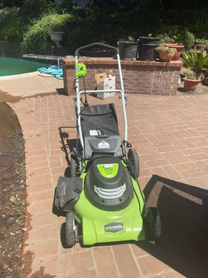 Greenworks lawn mower for Sale in Fontana, CA