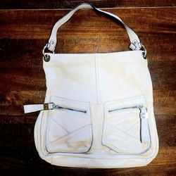 Off White Cream 100% Leather TIGNANELLO Purse Handbag for Sale in Lakewood,  WA