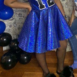 Royal Blue Neon Kisses Dress for Sale in Elkridge, MD
