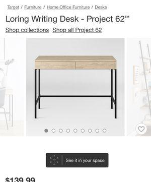 Desk brand new in box for Sale in Rockville, MD