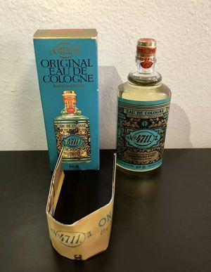 NEW No 4711 Original Eau De Cologne Blue Gold Double Famous House of Rhine 4 oz for Sale in Brooklyn, NY