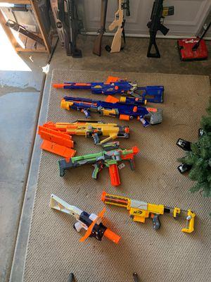 Nerf guns. $5.00 per gun for Sale in Menifee, CA