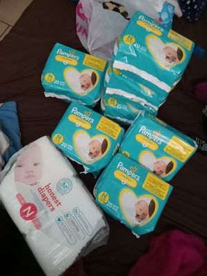 Newborn diapers brand new all packs for $50. for Sale in Bell Gardens, CA