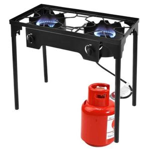 New 150000 Btu Double Burner Outdoor Stove Bbq Grill OP3078 for Sale in Rancho Cucamonga, CA