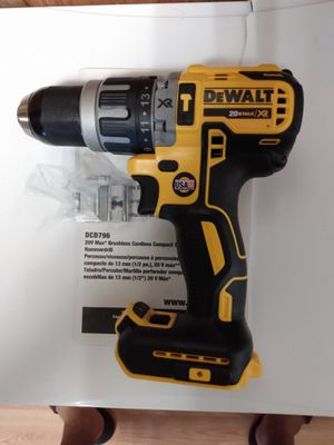 *New* 20V MAX XR Cordless 1/2 in. Brushless Compact Hammer Drill (Tool Only) for Sale in Norman, OK