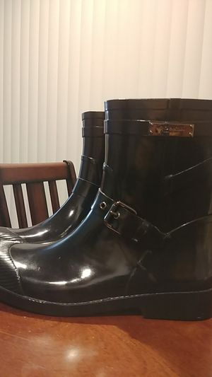 Coach rubber boots size 9b womans for Sale in Goodyear, AZ