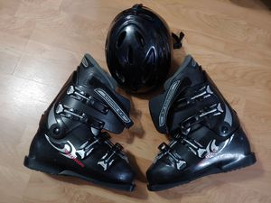 Salomon Ski Boots and Helmet for Sale in Bloomingdale, IL