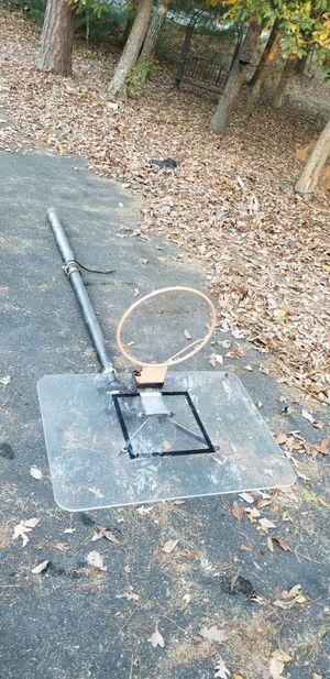 """10"""" Adjustable Steel Basketball Hoop for Sale in Quinton, VA"""