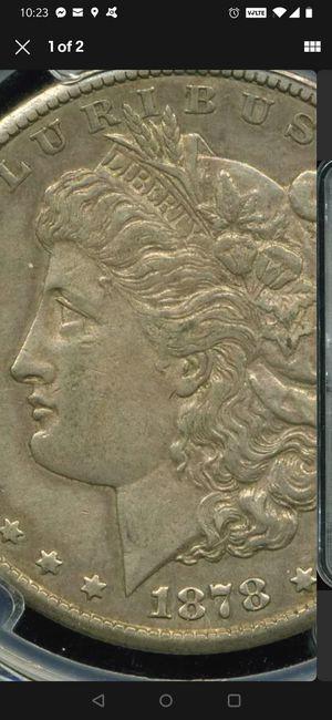 1878 CC Morgan Silver Dollar PCGS EF45 for Sale in Whittier, CA
