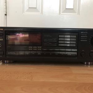 Onkyo Receiver, Six Disc CD, Six Disc DVD Player / Yamaha K2000 Cassette Deck / 2 JBL Speakers for Sale in Virginia Beach, VA