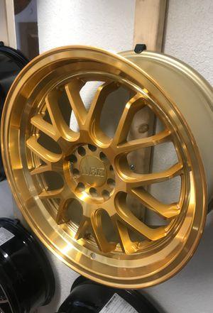 MACHINE GOLD F1R RIMS ON SALE🔥🔥🔥 for Sale in Sacramento, CA