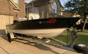 2000 Triton 150 Johnson GPS trolling Motor lean post aluminum Trailer 18ft Triton Sea flight 150 Johnson Low Hours Like new Has all Options you ne for Sale in Katy, TX