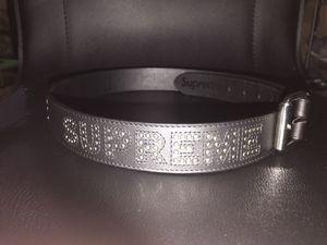 Supreme Studded logo belt for Sale in Hebron, KY
