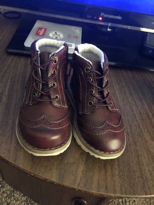 Toddler boys size 7C dressy shoes for Sale in Saint Anthony, ND