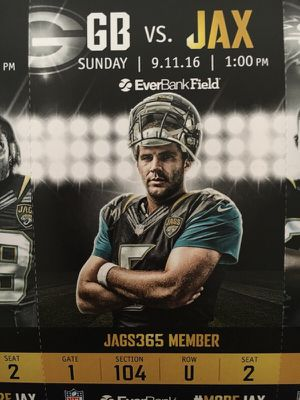 Jaguars tickets BEST SEATS IN THE HOUSE for Sale in Jacksonville, FL