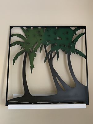 Palm Trees Wall Art - Metal for Sale in Los Angeles, CA