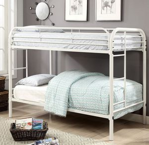 Twin Over Twin Bunk Bed Frame for Sale in Salem, OR