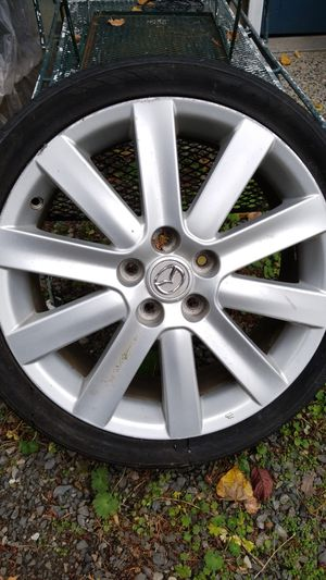 Mazda premium wheels 18s for Sale in Snohomish, WA
