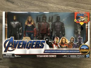 Marvel Avengers Titan Hero Series Power FX Set of Four Action Figures for Sale in Phoenixville, PA