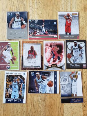 Vince Carter Nets Mavs NBA basketball cards for Sale in Gresham, OR