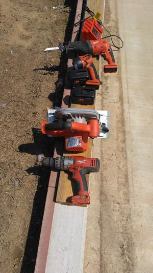 Milwaukee tools set for Sale in Sanger, CA