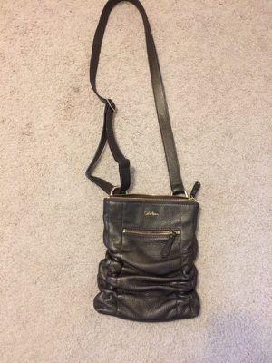 Cole Haan messenger bag. Slight metallic brown. Outside zipper and inside for Sale in Fairfax Station, VA