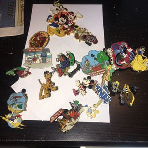 Disney Pins Lot Of 17 for Sale in Fort Lauderdale, FL