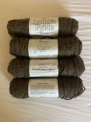 Lamb's Pride Worsted Wool Yarn for Sale in Elizabethton, TN