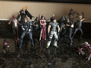 Resident Evil figure lot for Sale in Suisun City, CA