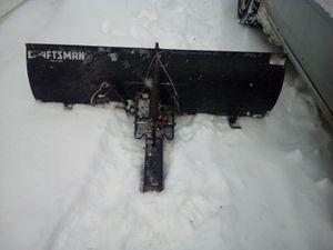 42in Craftsman plow for Sale in Mount Morris, MI