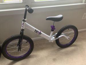 Bixie training bike for kids for Sale in Herndon, VA