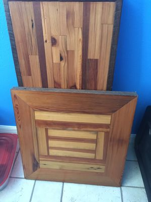 2 barn wood table tops for Sale in Bartow, FL