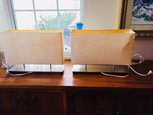 2 high end lamps ($15 each $25 both) for Sale in Odenton, MD