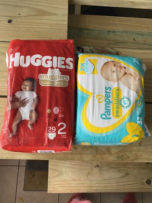 Huggies and pampers diapers for Sale in La Vergne, TN