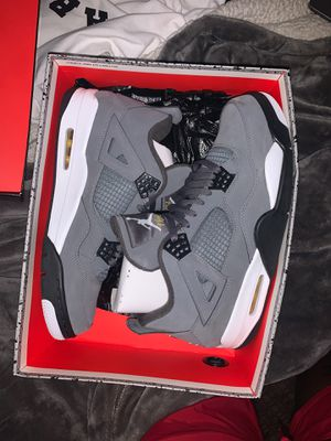 Authentic cool grey air Jordan retro 4 size 11.5 for Sale in Los Angeles, CA