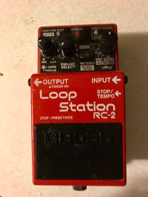 Boss loop station RC 2 for Sale in Stockton, CA